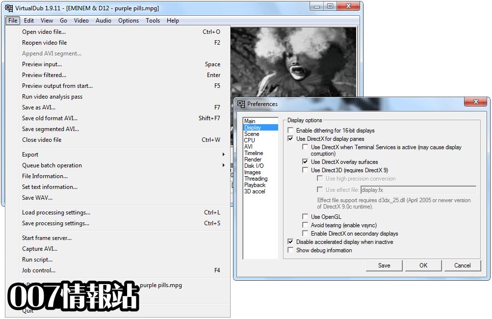 VirtualDub (64-bit) Screenshot 5