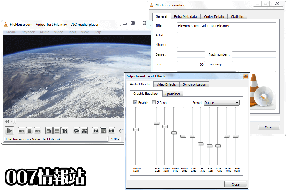 VLC Media Player (64-bit) Screenshot 2