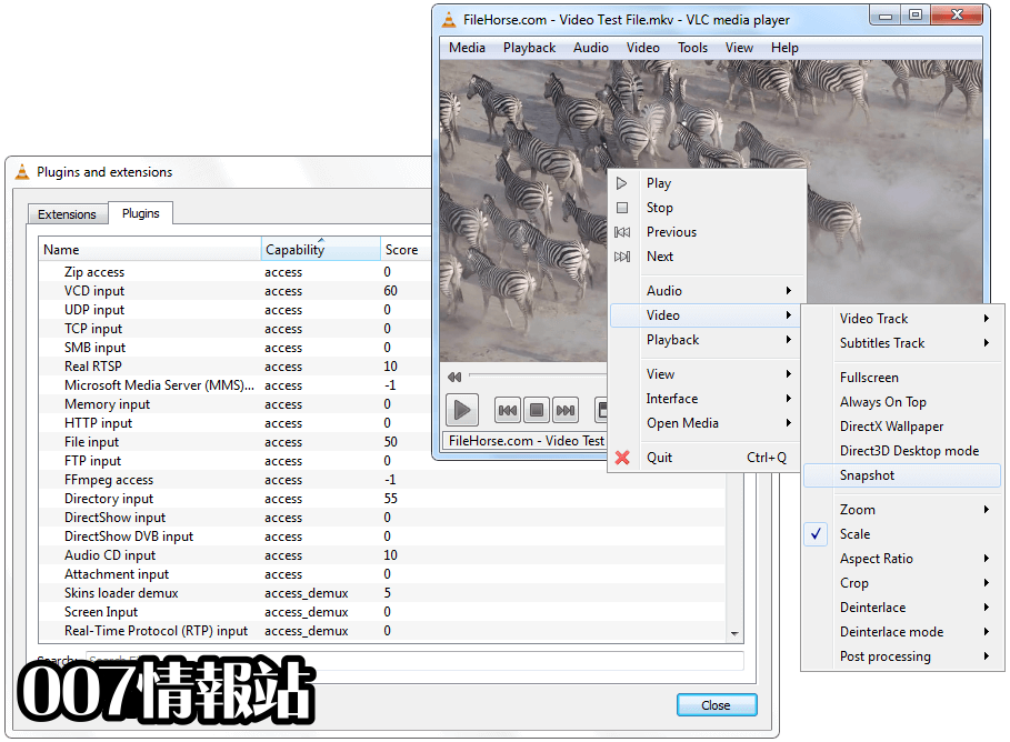 VLC Media Player (64-bit) Screenshot 3