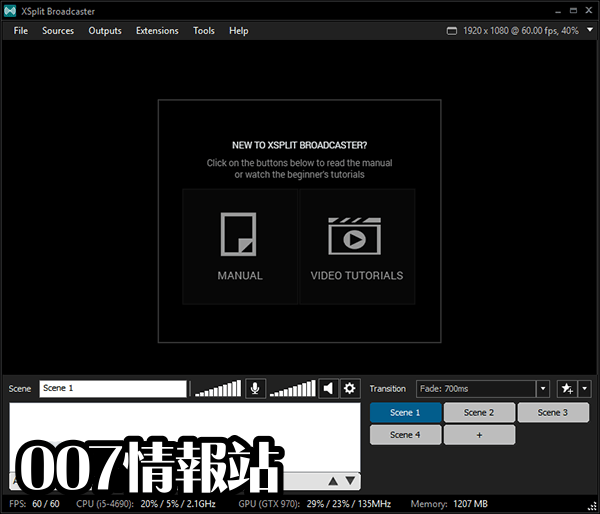 XSplit Broadcaster Screenshot 2