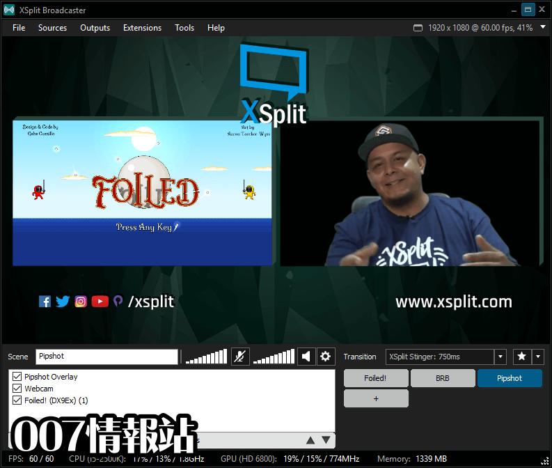 XSplit Broadcaster Screenshot 4