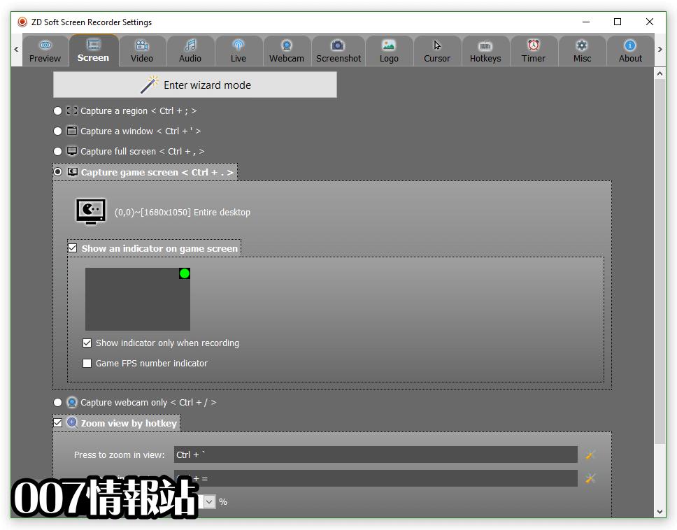 ZD Soft Screen Recorder Screenshot 5